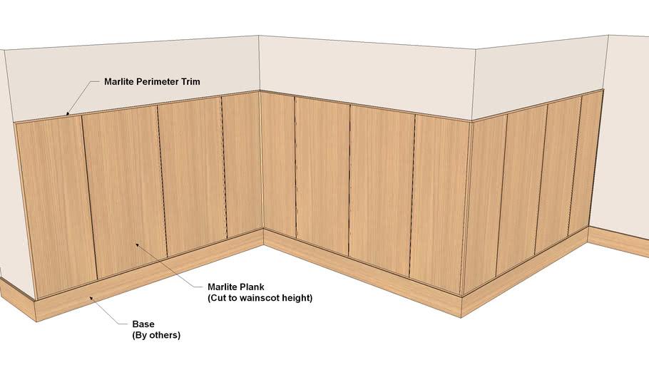 Marlite Plank - Suggested Aluminum Trim Fabrication