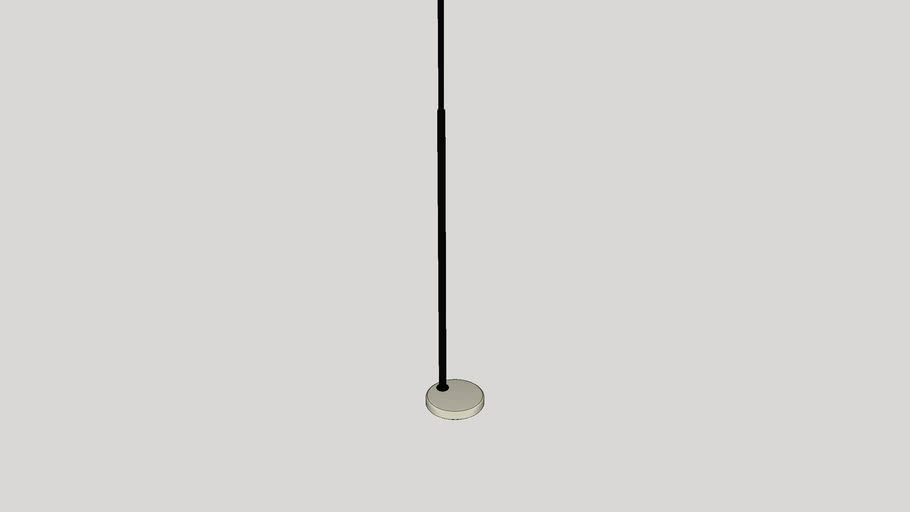 Maui 81 Arched Floor Lamp 3d Warehouse