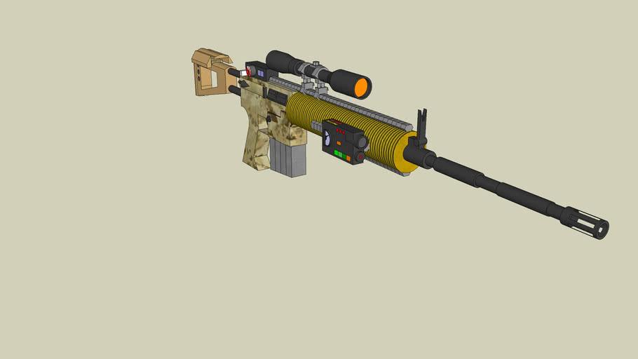 M16-A7 Designator Battle Rifle
