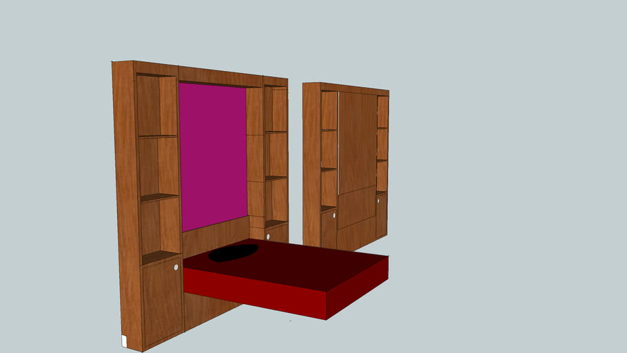 cherish and dream's model murphy bed's complete