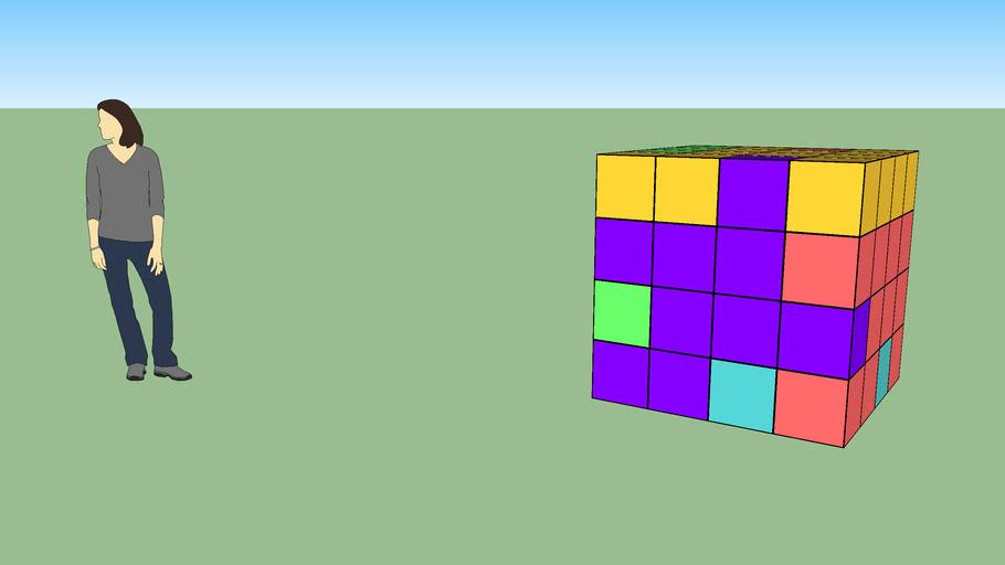 Brawner cube