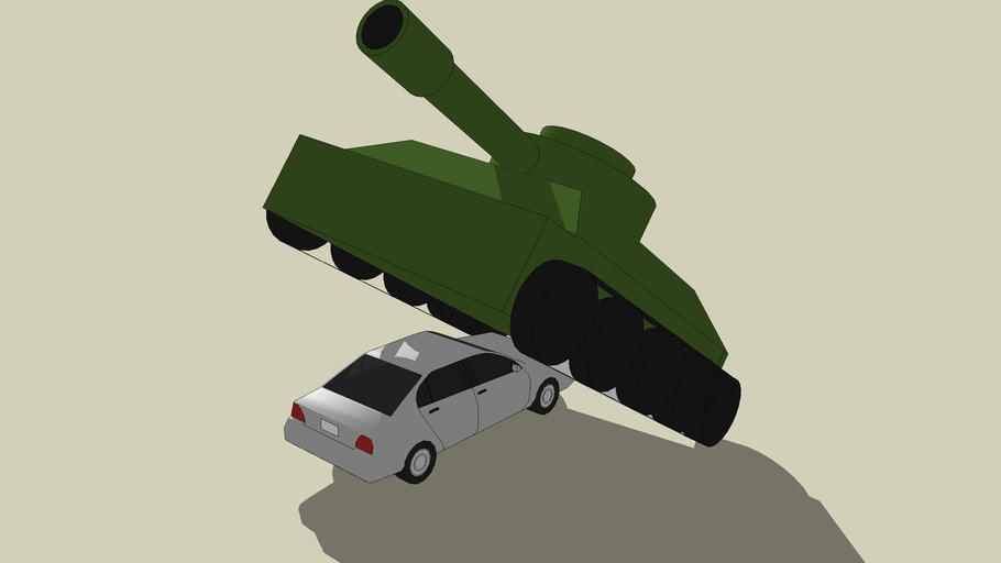 tanke de guerra