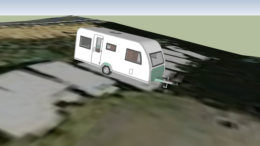 Caravana Abandonada (Con interior) ~Camping Bellver