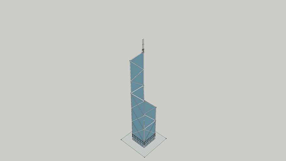 Bank Of China Tower- Çin Banka Kulesi