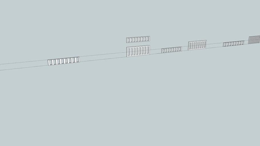 diferentes modelos de rejas para cunas