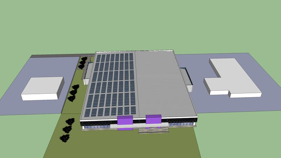 ECF  Factory Rojana Ayutthaya 265 W Toshiba