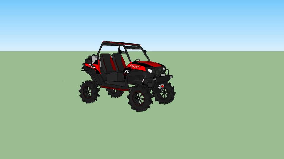RZR 900 Mud Bogger