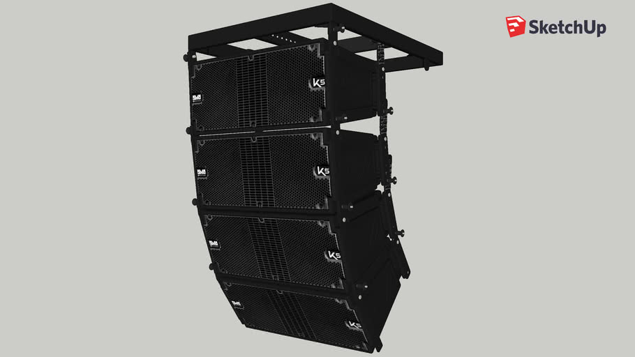 DVA K5 (4x) Cluster - dBTechnologies