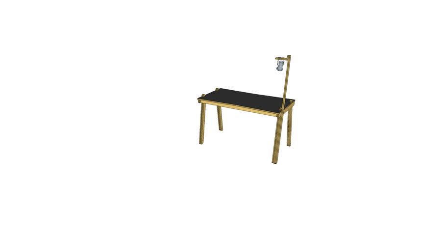 9006 -(V4)- bureau avec mat - Atelier Minassian
