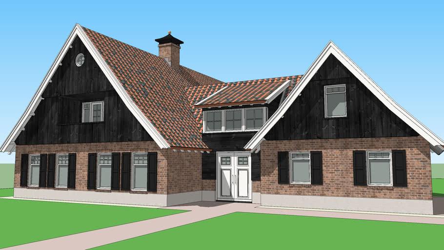 Saxon style house