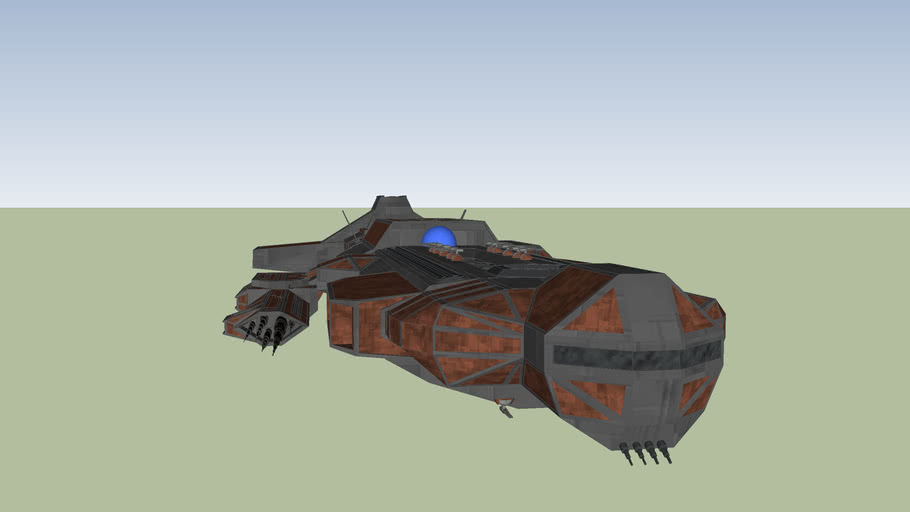 Antiker Kriegsschiff Hyperion