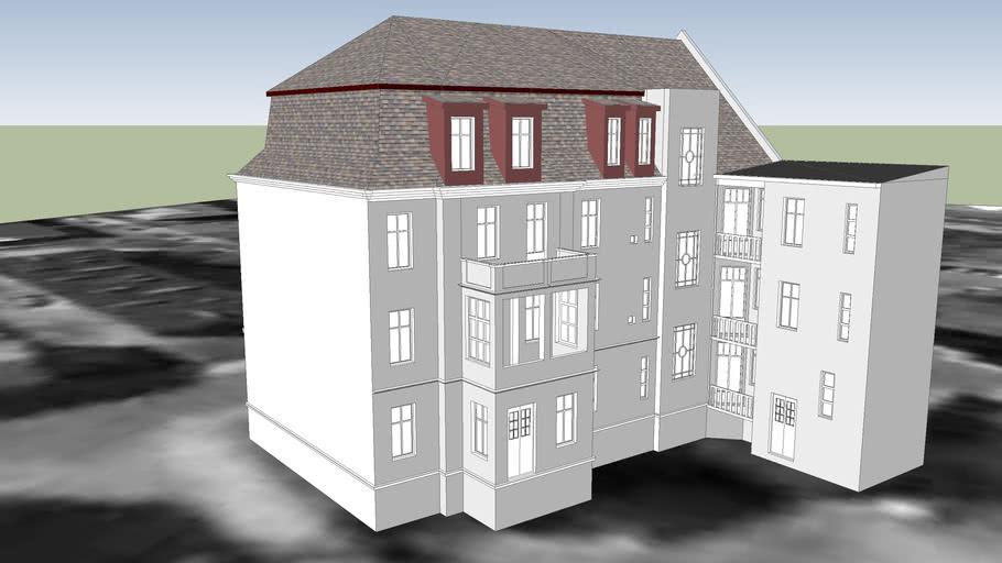 TENEMENT HOUSE ON 5 SKARGI STREET IN BYDGOSZCZ