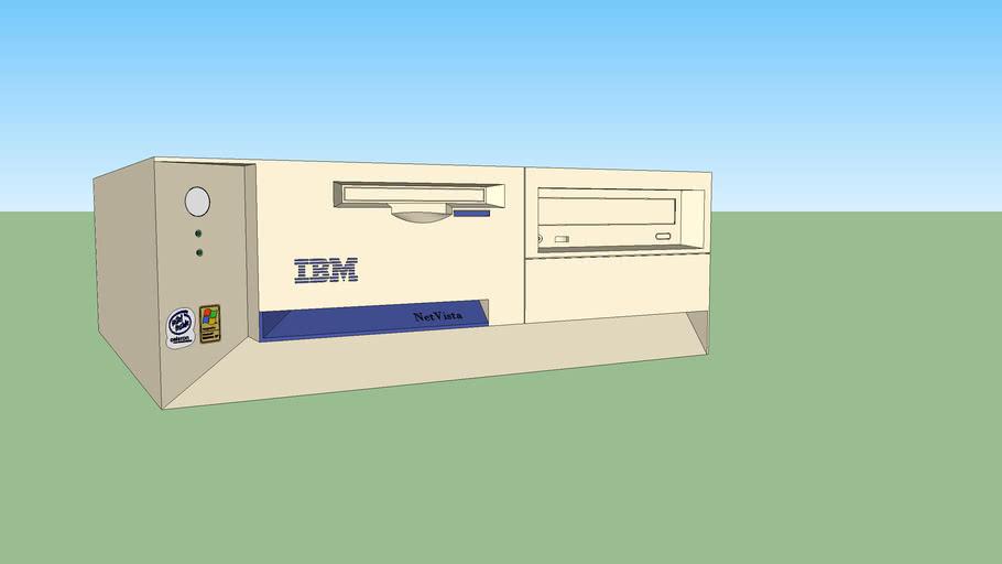 IBM NetVista A22p computer (white)
