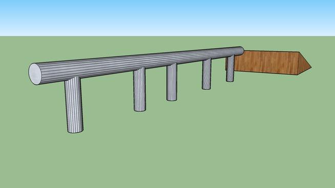 kicker with rail