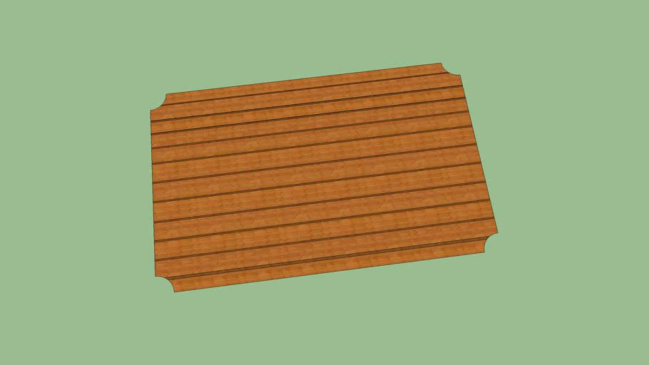 Individual de madera
