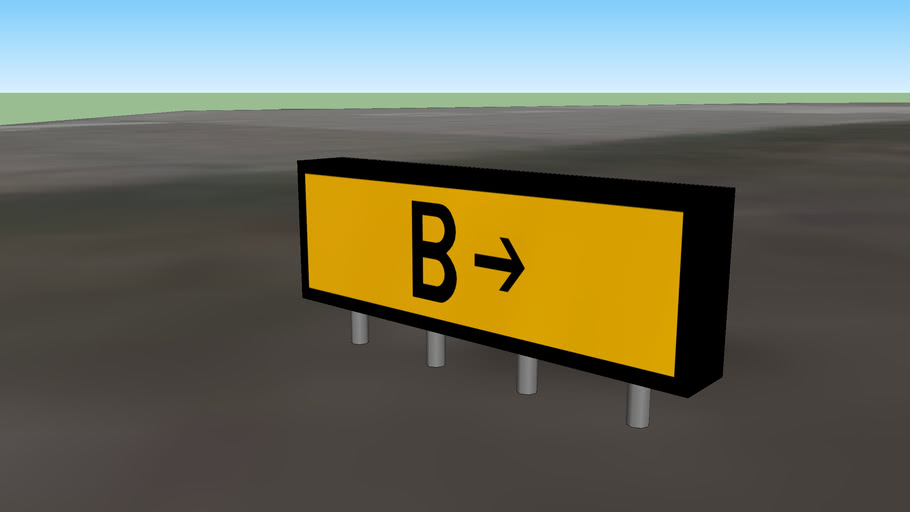 Southport Airfield Signage - B