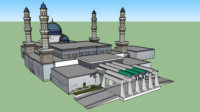 City Mosque, Likas Bay, Kota Kinabalu