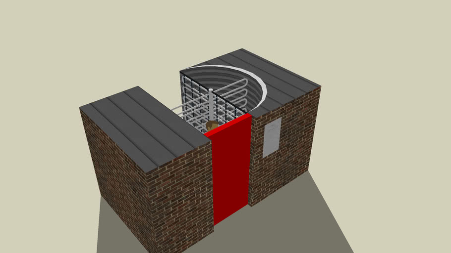turnstile for stadium