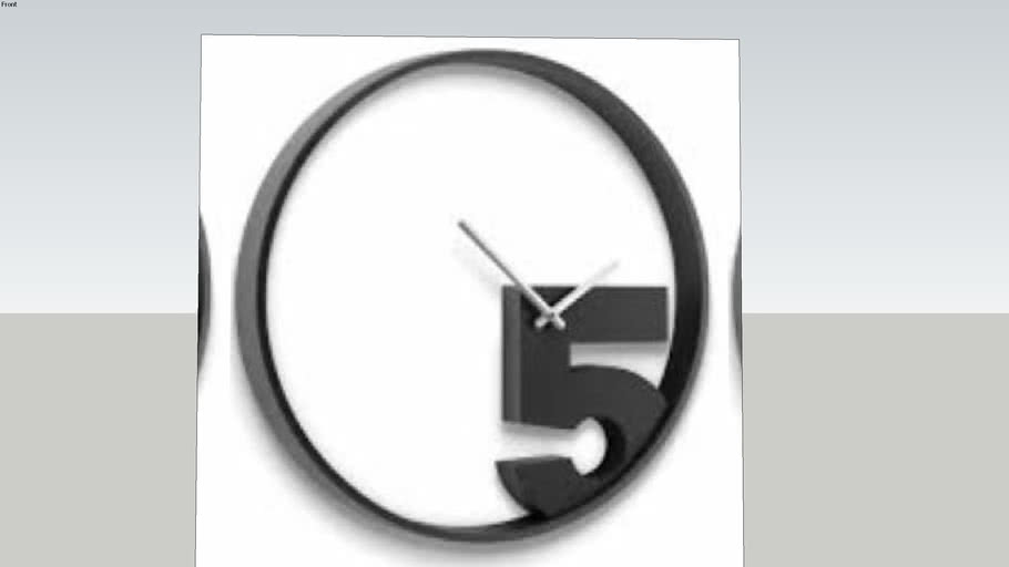 MODERN WALL CLOCK UMBRA TAKE 5