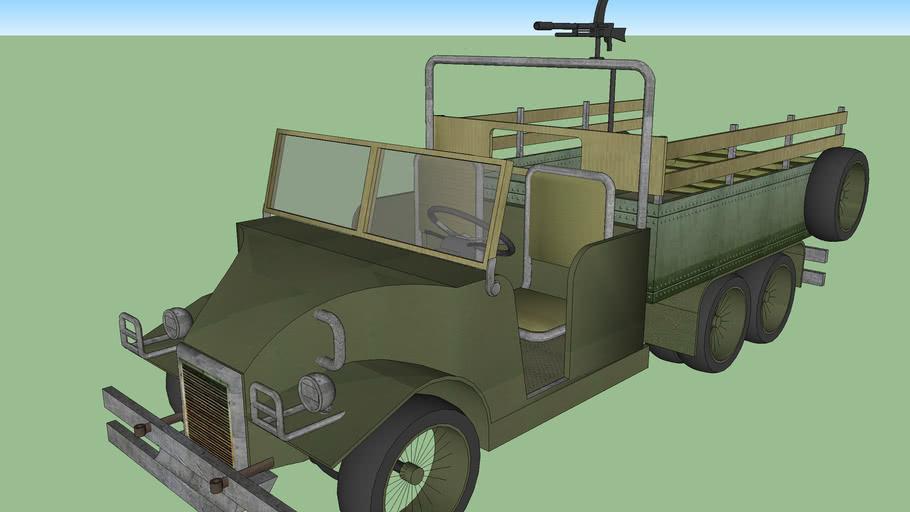 Camión militar WWII 1