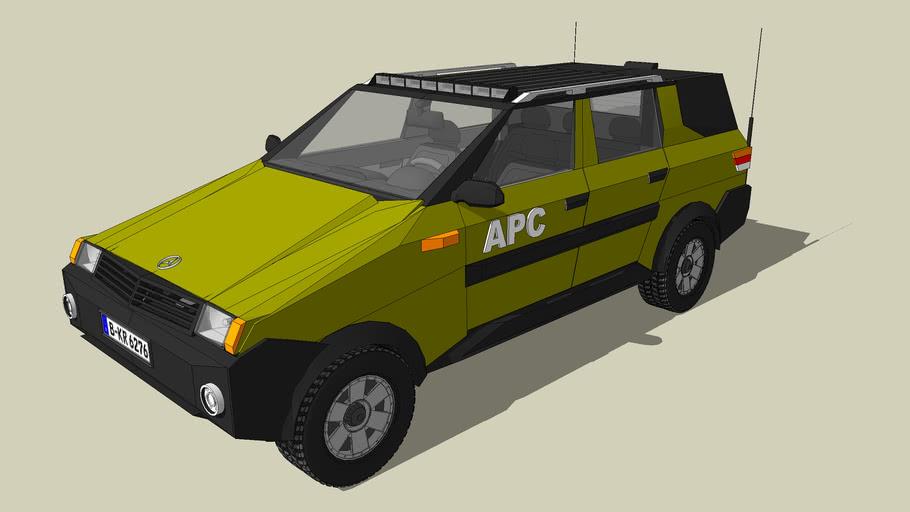 BENZ Pick-up  皮卡车1980