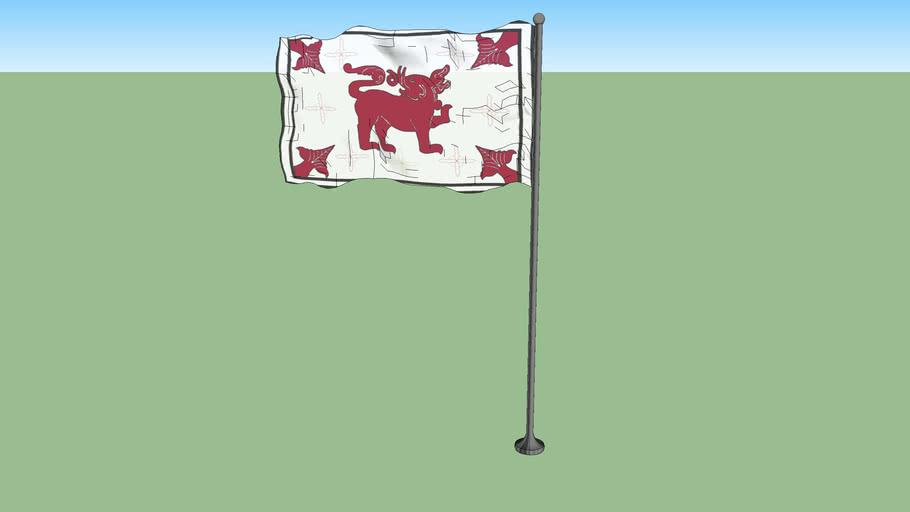 Flag of Sitawaka Kingdom (1521-1594)