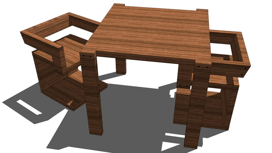 Revised Rietveld Tribute Chair