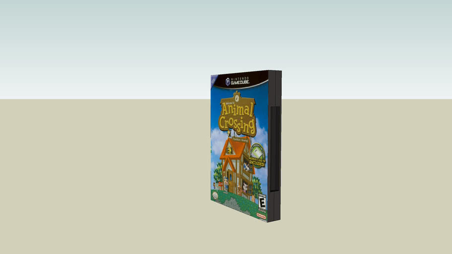 Animal Crossing Gamecube Box Art