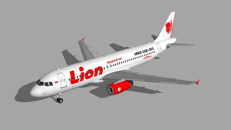 Lion Air Airbus A320-200 4