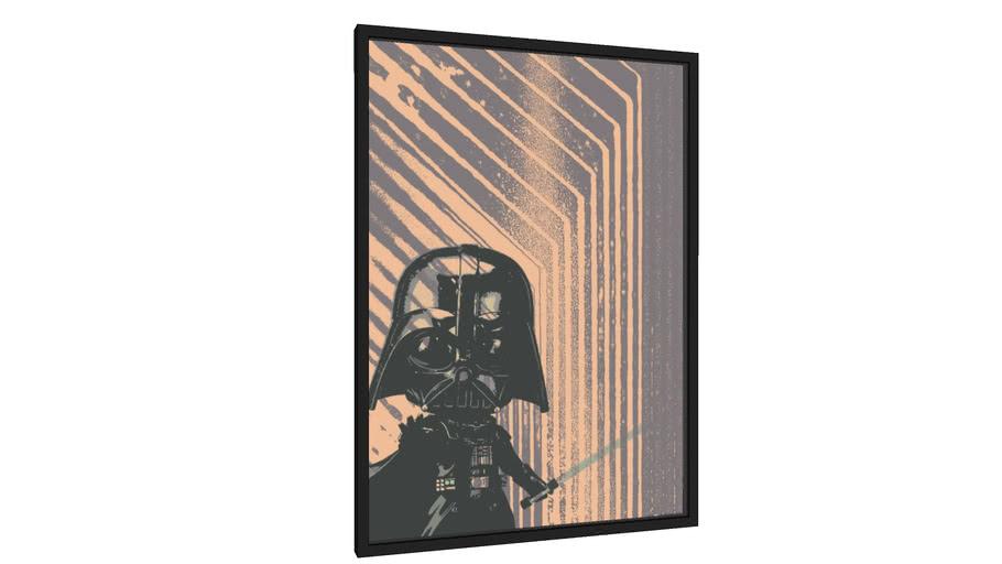 Quadro Darth Vader - Galeria9, por La Fazoli