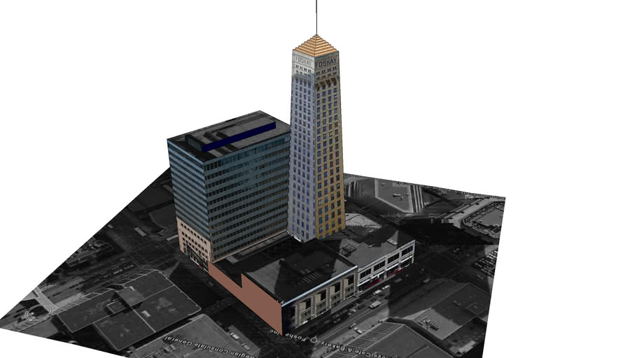 Minneapolis Foshay Tower block