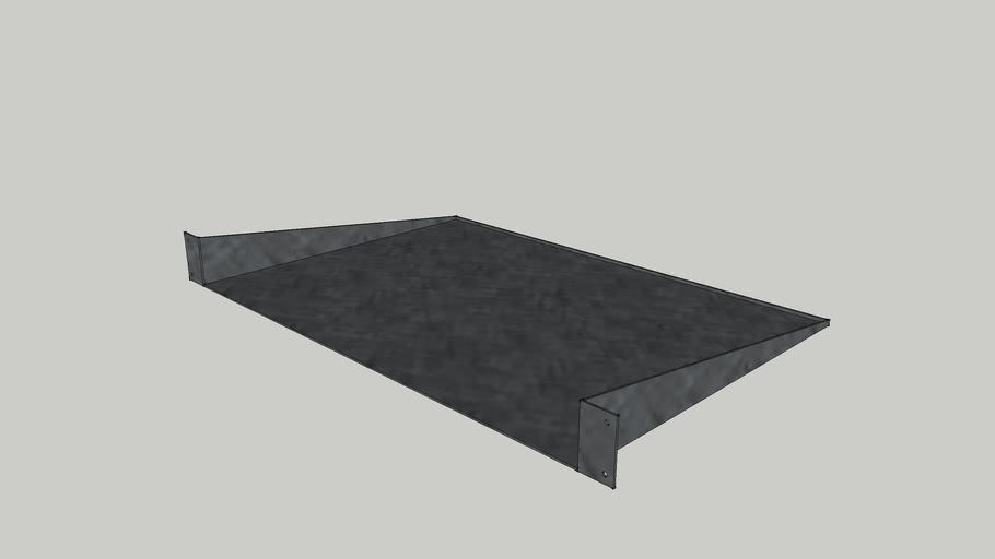 1U Rack Shelf (12inch)