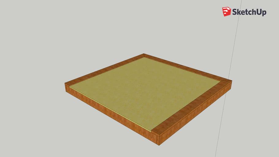 King Size Floating Bed Frame