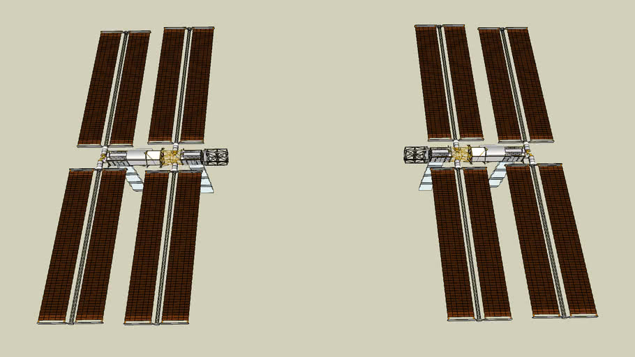p/s-3,4,5,6 truss (ISS Modules)