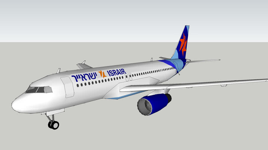 Israir A320 in New Livery