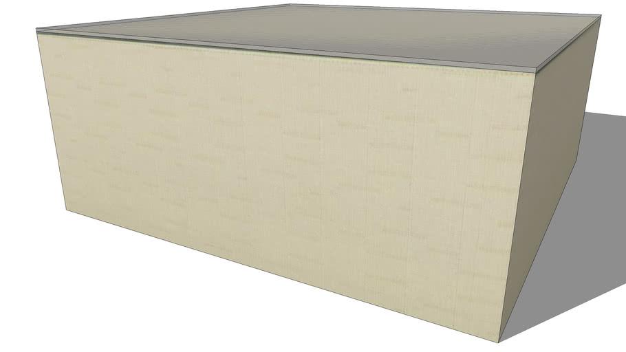 table basse IBIZA beige, Maisons du monde. Réf: 130.696 Prix:99€