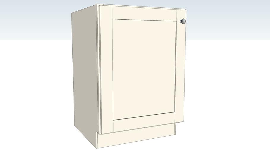 Sink Base Full Height Single Door