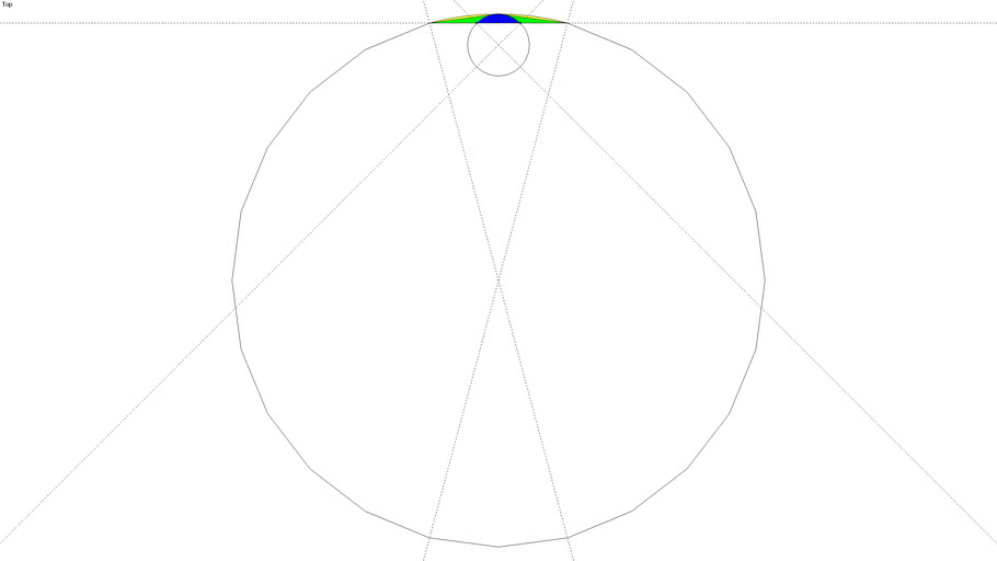 Arc Examples - Equal Bulge [How far out the arc bulges]