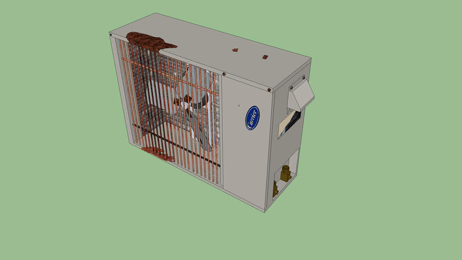 Rusty/Damaged Carrier Mini Split Air conditioner/Heat Pump