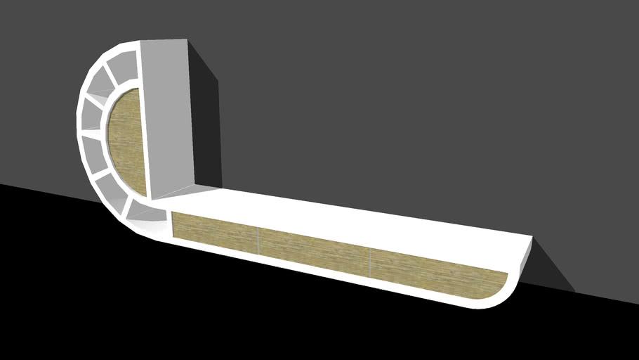 curvilinear furniture