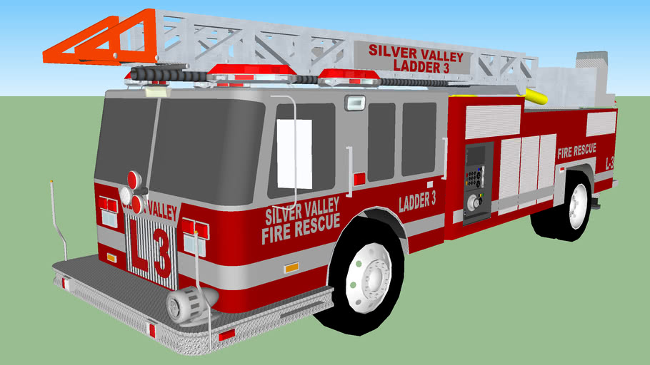 SILVER VALLEY FIRE RESCUE LADDER 3