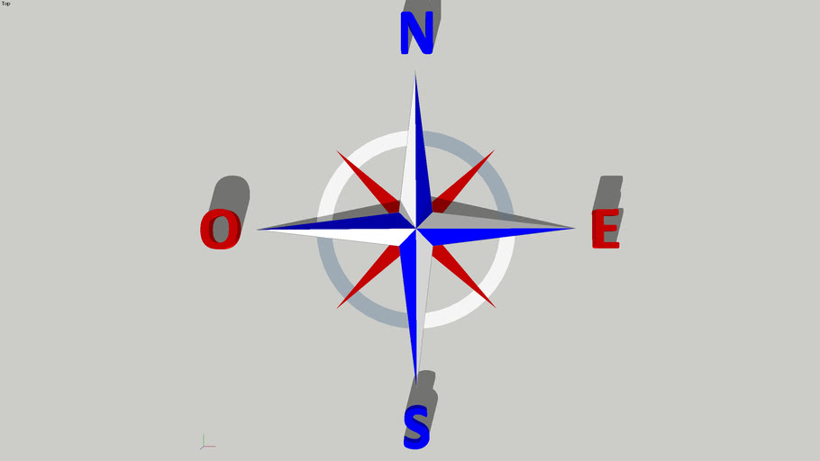 Rose des Vents - Compass rose
