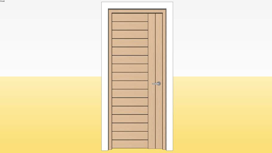Panel Door D10 800 x 2100 Jamb 4