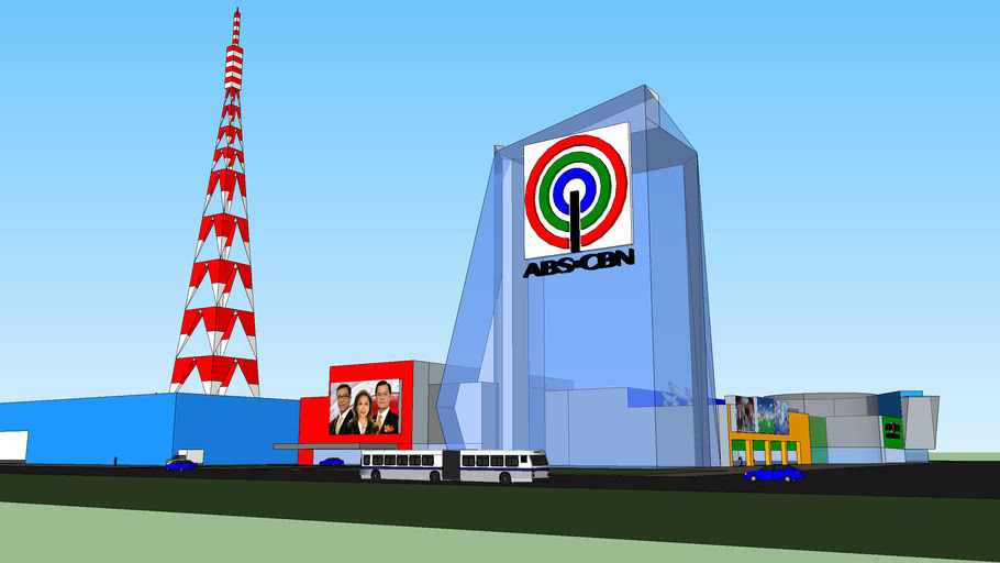 ABS-CBN Broadcast Center Kevtopia | 3D Warehouse