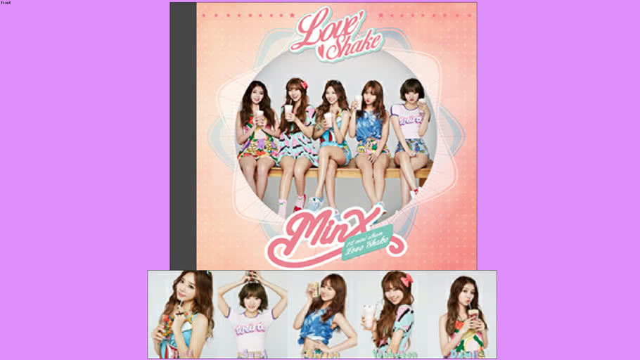 MINX - The 1st Mini Album - Love Shake