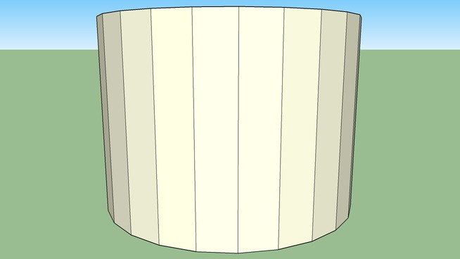 cylinder with holes