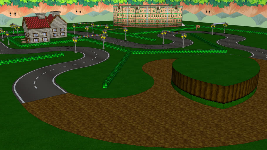 Just another Mario kart Wii Custom Track