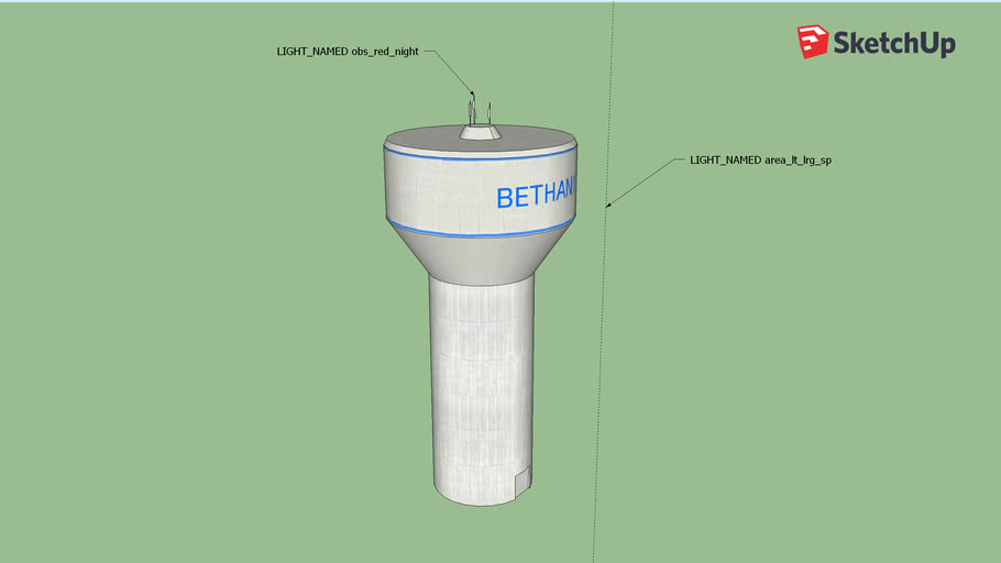 Bethany Water Tower