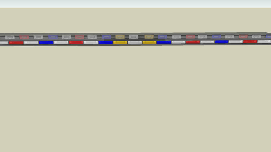 SoundGator X3 Super Slim Lightbar
