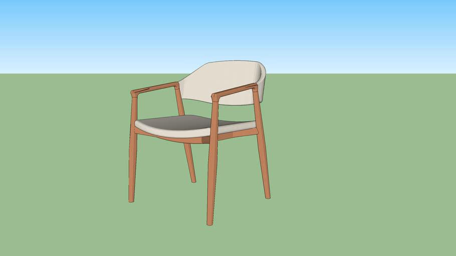 Cadeira Cora com braço - Daniela Ferro